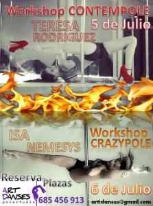 Isa workshops julio